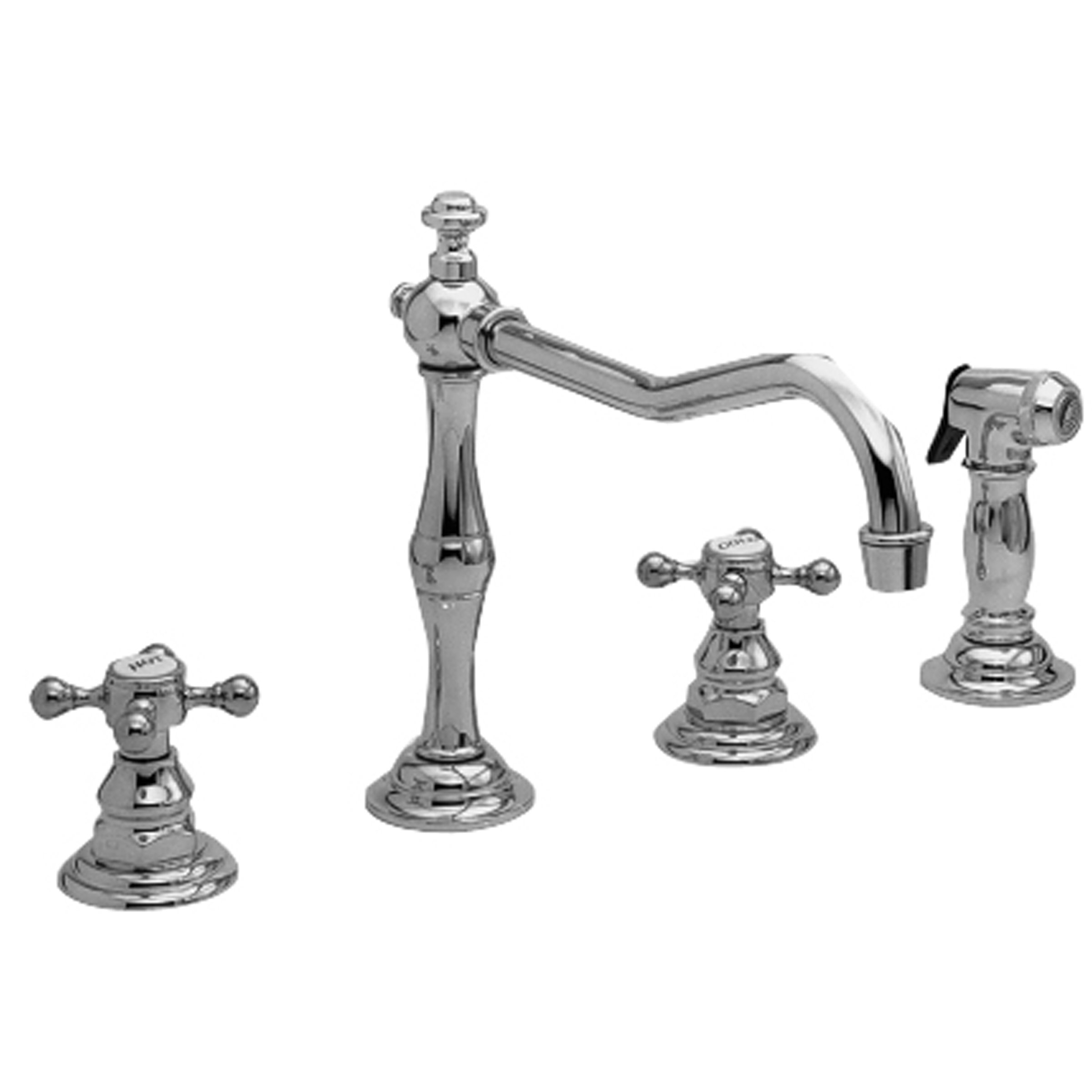 Newport Brass 943 Chesterfield Kitchen Faucet With Side Spray Faucet Supply