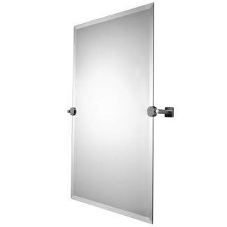 Valsan bathrooms 41090 braga rectangular mirror 22quot w x for Valsan bathrooms